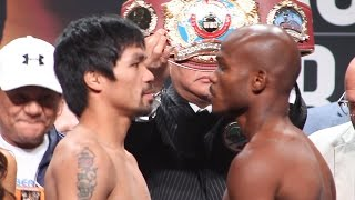 Manny Pacquiao / Timothy Bradley 3 Weigh-In  [FULL]