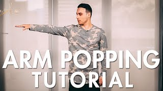 How to Pop / Arm Popping (Hip Hop Dance Moves Tutorial) | Mihran Kirakosian