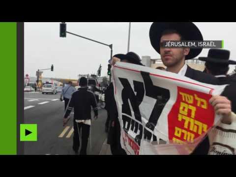 Xxx Mp4 Des Juifs Ultra Orthodoxes Déclenchent Une Violente Rixe Durant Le Marathon De Jérusalem 3gp Sex