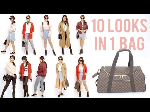 10 Travel Outfits In 1 Carry On Luggage ANN LE