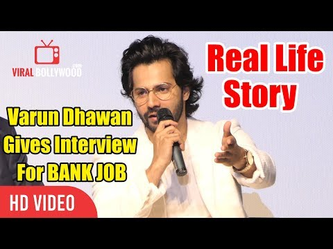 Xxx Mp4 Varun Dhawan Gives Interview For BANK JOB In Real Life IFFI 2018 GOA 3gp Sex