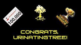 Congrats, UrinatingTree!