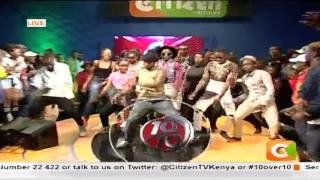 Behold 10 Over 10,  DJ Mickey representing #10Over10