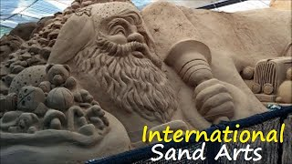 Amazing Sand Art Sculptures by Our Artists