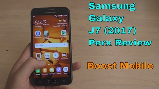 Samsung Galaxy J7 Perx (2017) Review Boost Mobile HD