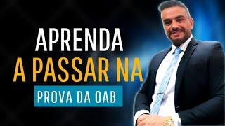MOTIVACIONAL - PROF. PEDRO BARRETO ENSINA COMO ESTUDAR PARA O EXAME DA OAB