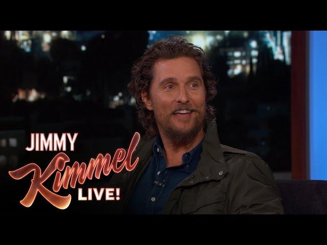 Don't Call Matthew McConaughey 'Matt'