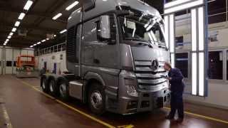 Mercedes-Benz Custom Tailored Trucks -- Molsheim plant