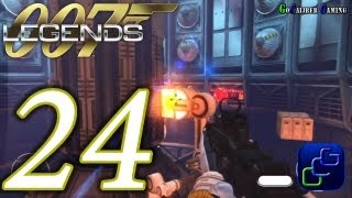 007 Legends Walkthrough - Part 24 - Moonraker - Space Station - Agent (optional objective completed)