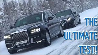 Top Test-Drive! Watch Putin's Limo Brave Freezing Temperatures In Siberia
