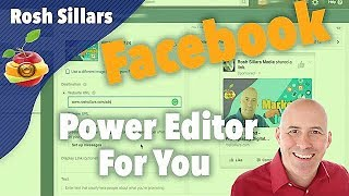 How To Use The Facebook Power Editor