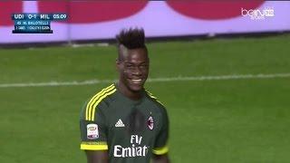 اهداف مباراة ميلان 3-2 أودينيزي الدوري الإيطالي  2015/9/22