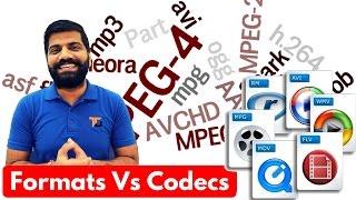 Video Codec & Formats | MP4, AVI, MKV, WMV, MOV, AVCHD Explained