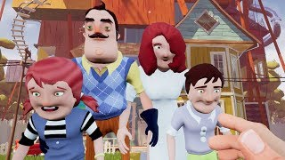 MEETING THE NEIGHBOR'S FAMILY?! | Hello Neighbor