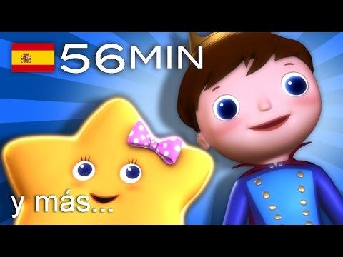 Estrellita ¿dónde estás Y muchas más canciones infantiles ¡56 min de LittleBabyBum