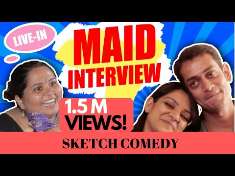 #SanjaySketch: Maid Interview