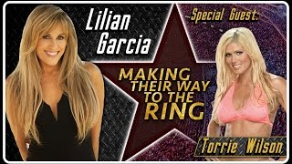Torrie Wilson Interview | AfterBuzz TV's Lilian Garcia: Making Their Way To The Ring