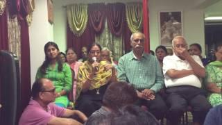 Meena Aunty's Satsang on 28th July 2016 - Jai Guruji!
