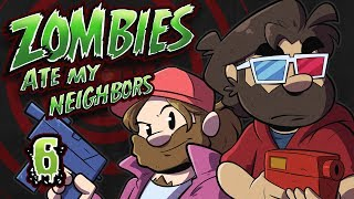 Zombies Ate My Neighbors Let's Play #6 - Poltergeist