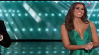 Primer Desfile de Paulina Vega en el Miss Universo 2015