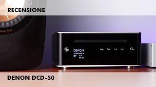 Recensione lettore CD compatto Denon DCD-50