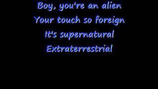 E.T Lyrics- Katy Perry ft. Kayne West