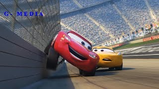 Lightning Mcqueen flipped over Cruz After Cars 3  |  Amazing Scene !