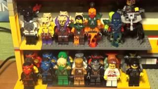 обзор на всю коллекцию lego ninjago, nexo knights.