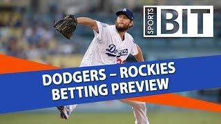 Dodgers vs Rockies | Sports BIT Clip | MLB Betting Tips
