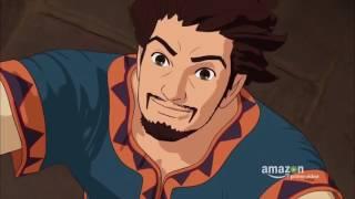 RONJA, THE ROBBER S DAUGHTER Trailer (2017) Studio Ghibli Animated Series HD