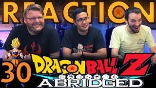 TFS DragonBall Z Abridged REACTION!! Episode 30 1/3