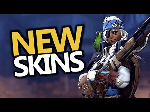 ALL NEW! Skins, Emotes & Intros! Halloween Terror 2017 (Overwatch)