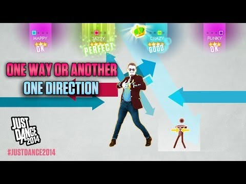 One Direction One Way or Another Just Dance 2014 DLC Gameplay