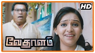 Vedalam Tamil Movie | Scenes | Ajith agrees to Lakshmi and Ashwin's marriage | Kabir | Mayilswamy