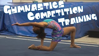 Training For A Gymnastics Competition| Rachel Marie