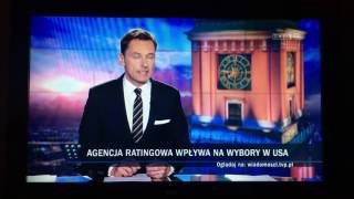 Wpadka Wiadomości TVP - Donald Tusk prezydentem USA