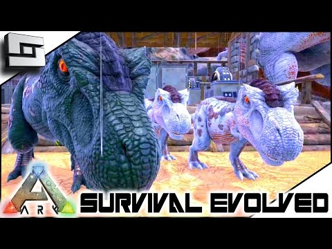 ARK: Survival Evolved - TWIN BABY TREX! S3E60 ( Gameplay )