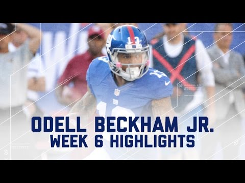 Odell Beckham Jr. Goes Off for 222 Yards & 2 TDs! | Ravens vs. Giants | NFL Week 6 Player Highlights