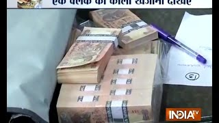 around rs 3 crore black money flats gold seized from a clerk of hyderabad nagar nigam