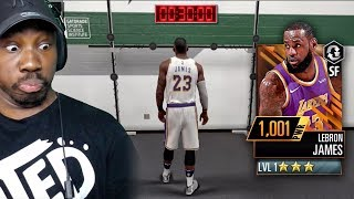 TRAINING NEW LEBRON JAMES & COMPLETNG DRILLS! NBA 2K Mobile Gameplay Ep. 11