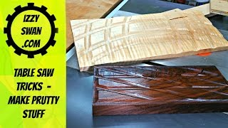 (how to make) your table saw do prutty stuff.