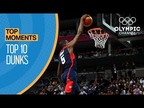 watch Top 10 Olympic dunks