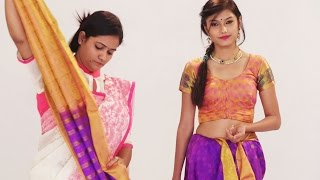 How To Wear Indian Style Silk Saree For Wedding – Look Slim and Beautiful with Thin Perfect Pleats