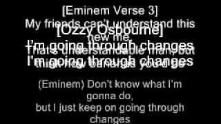 Eminem Going Through Changes with lyrics