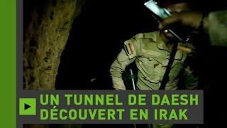 Images exclusives d'un tunnel de Daesh découvert sous un monastère près de Mossoul