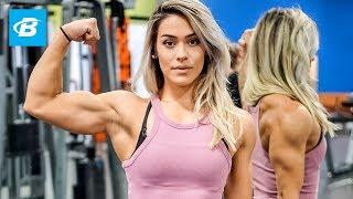 The Beauty that Trains Like a Beast   Cassandra Martin Arm Workout