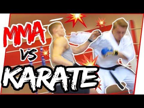 KARATE NERD vs. UFC FIGHTER | Jesse Enkamp Destroys Brother