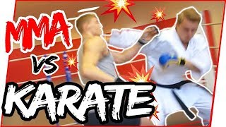 KARATE NERD vs. UFC FIGHTER | Jesse Enkamp Destroys Brother