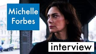 Michelle Forbes Hates Walking Through Berlin In High Heels for Berlin Station