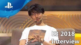 Death Stranding - Hideo Kojima Interview - E3 2018 Coliseum [PS4]